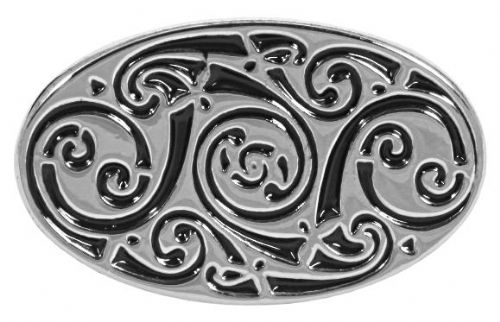 Oval Celtic Knot PewterCufflinks